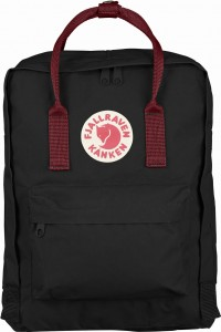 Plecak Kanken Fjallraven - 550/326 Black/Ox Red
