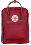 Plecak Kanken Fjallraven - 325-915 - Deep Red-Random Blocked
