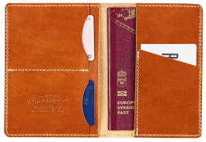 ETUI NA PASZPORT LEATHER PASSPORT COVER
