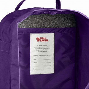 Plecak Kanken Mini Fjallraven - 325-915 Deep Red-Random Blocked