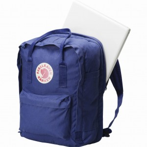 "Plecak Kanken Laptop 13"" Fjallraven - 326/540 Ox Red/Royal Blue"