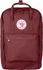 "Plecak Kanken Laptop 17"" Fjallraven - 326 Ox Red"