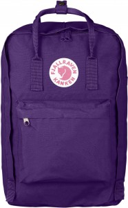 "Plecak Kanken Laptop 17"" Fjallraven - 580 Purple"