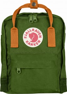 Plecak Kanken Mini Fjallraven - 615/212 Leaf Green/Burnt Orange