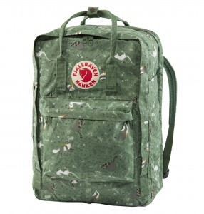 "Plecak Kanken Art Laptop 17"" - 976 Green Fable"