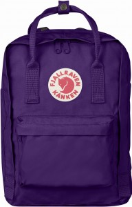 "Plecak Kanken Laptop 13"" Fjallraven - 580 Purple"
