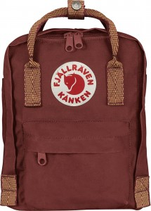 Plecak Kanken Mini Fjallraven - 326-908 Ox Red/Goose Eye