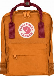 Plecak Kanken Mini Fjallraven - 212-325 Burnt Orange-Deep Red