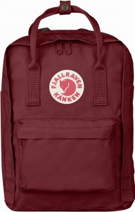 "Plecak Kanken Laptop 13"" Fjallraven - 326 Ox Red"