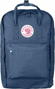 "Plecak Kanken Laptop 17"" Fjallraven - 519 Blue Ridge"