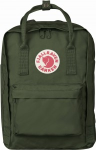 "Plecak Kanken Laptop 13"" Fjallraven - 660 Forest Green"