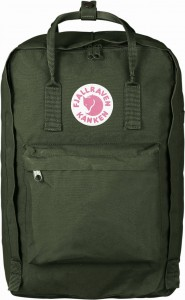 "Plecak Kanken Laptop 17"" Fjallraven - 660 Forest Green"