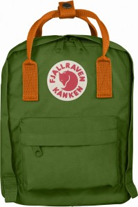 Plecak Kanken Kids Fjallraven - 615/212 Leaf Green/Burnt Orange