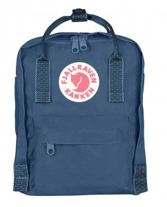 Plecak Kanken Mini Fjallraven -  540/902 Royal Blue/Pinstripe Pattern