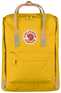 Plecak Kanken Fjallraven - 141/905 - Warm Yellow/Random Blocked