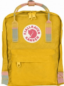 Plecak Kanken Mini Fjallraven - 141/905 - Warm Yellow/Random Bloked