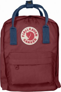 Plecak Kanken Kids Fjallraven - 326-540 - Ox Red/Royal Blue
