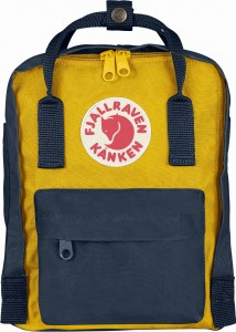 Plecak Kanken Mini Fjallraven - 560/141 Navy/Warm Yellow
