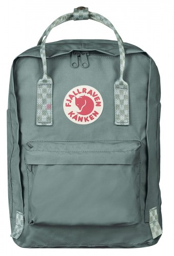 "Kanken Laptop 13"", kolor: 664-904 - Frost Green-Chess Pattern"