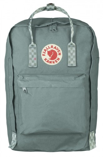 "Kanken Laptop 17"", kolor: 664-904 - Frost Green-Chess Pattern"