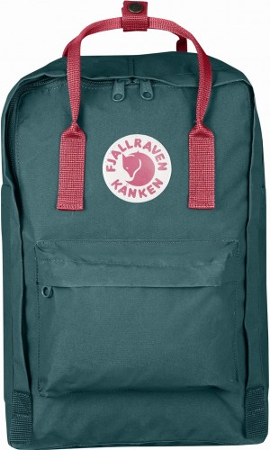 "Fjallraven Kanken Laptop 15"", kolor: 664/319 Frost Green/Peach Pink"