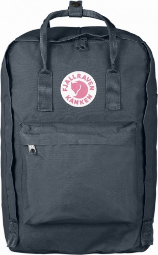 "Fjallraven Kanken Laptop 17"", kolor: 031 - Graphite."