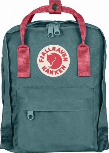 Fjallraven Kanken Mini, kolor: 664/319 Frost Green/Peach Pink