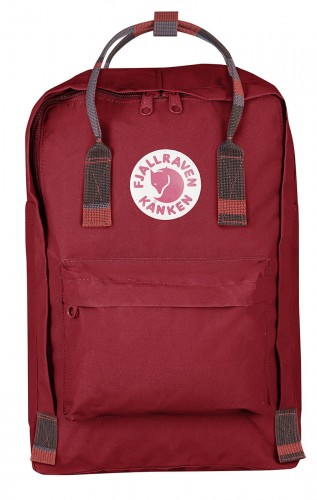 "Kanken Laptop 15"", kolor: 325-915 - Deep Red-Random Blocked"